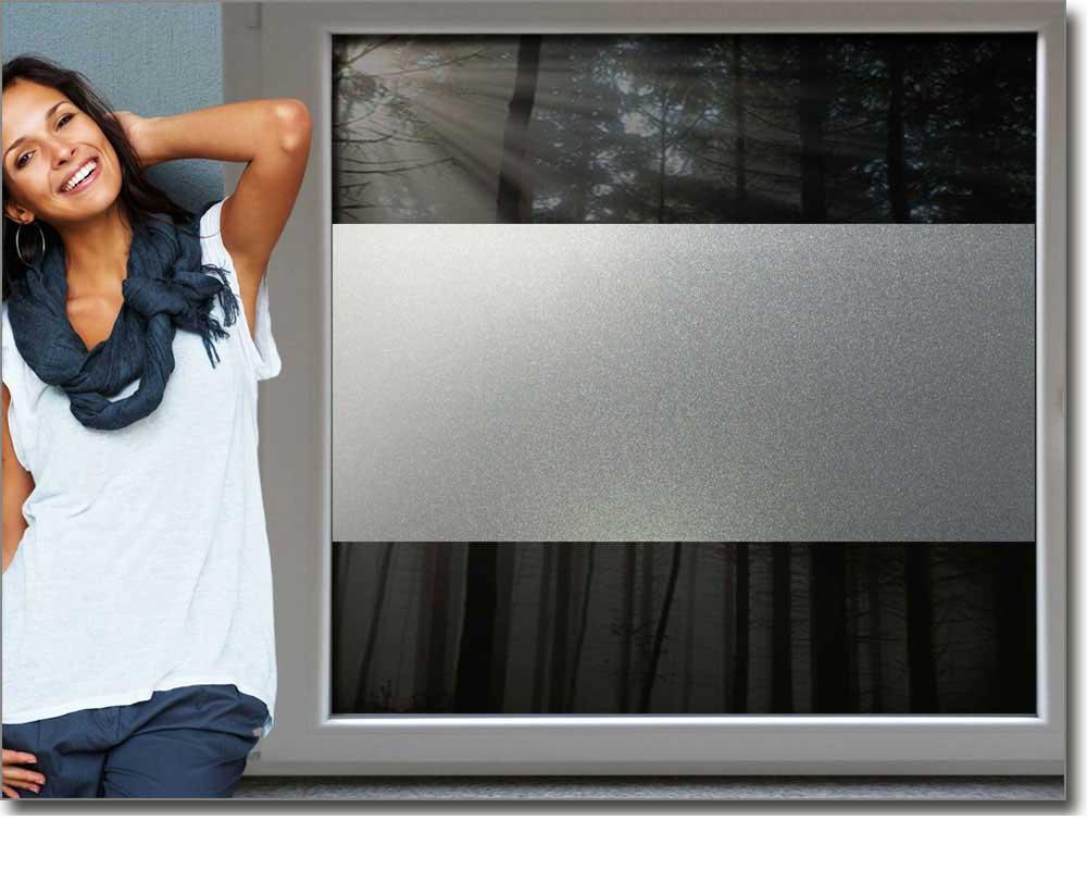 Sichtschutzfolie moderne kreise for Sichtschutzfolie badfenster