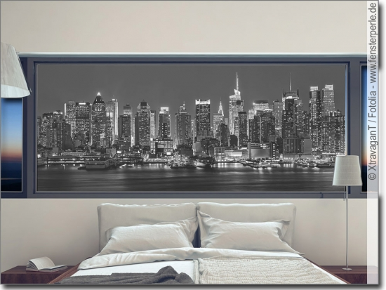 fensterfolie skyline. Black Bedroom Furniture Sets. Home Design Ideas