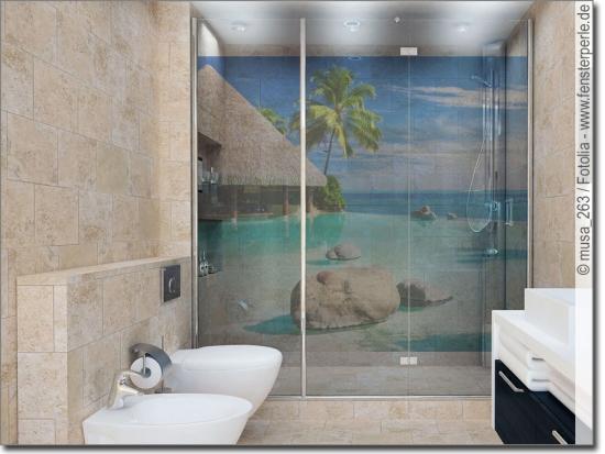 Fensterbilder badezimmer for Klebefolie badezimmer