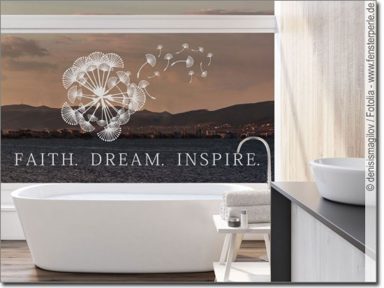 Glasdesign Faith Dream Inspire