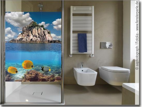 Sichtschutz oder deko f r bad wc ma anfertigung - Glasbild badezimmer ...