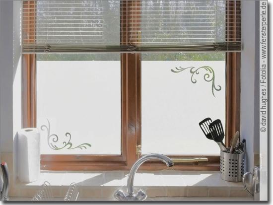 Fensterfolie Kuche Sichtschutz Oder Glasdesign Nach Mass