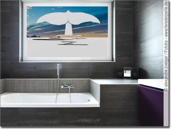 Sichtschutz oder Deko für Bad & WC | Maßanfertigung