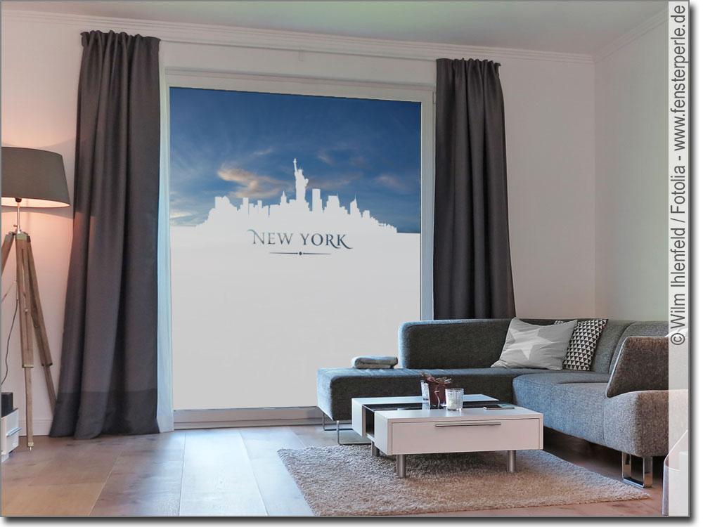 sichtschutzfolie new york. Black Bedroom Furniture Sets. Home Design Ideas