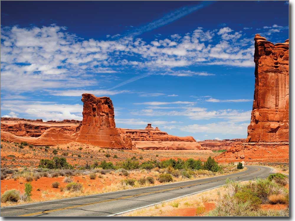 monument valley arizona foto auf glasfolie gedruckt. Black Bedroom Furniture Sets. Home Design Ideas