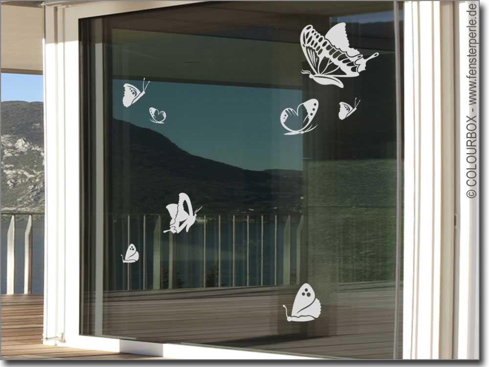 Schön Fenstertattoo Schmetterlinge. Fensteraufkleber Schmetterlinge. Glastattoo  Aufkleber Schmetterlinge Für Schlafzimmer