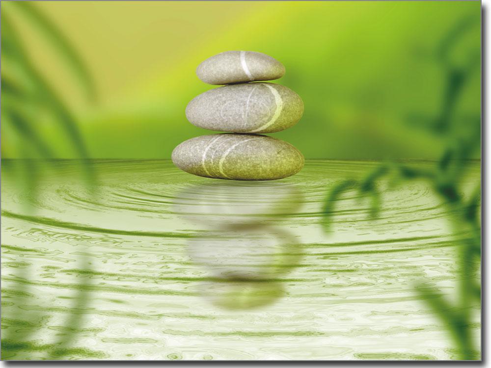 Wellness bilder steine  Fotofolie Wellness Steine | Fensterperle.de