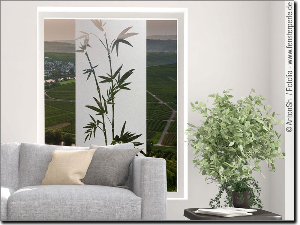 glasbanner bambuszweige. Black Bedroom Furniture Sets. Home Design Ideas