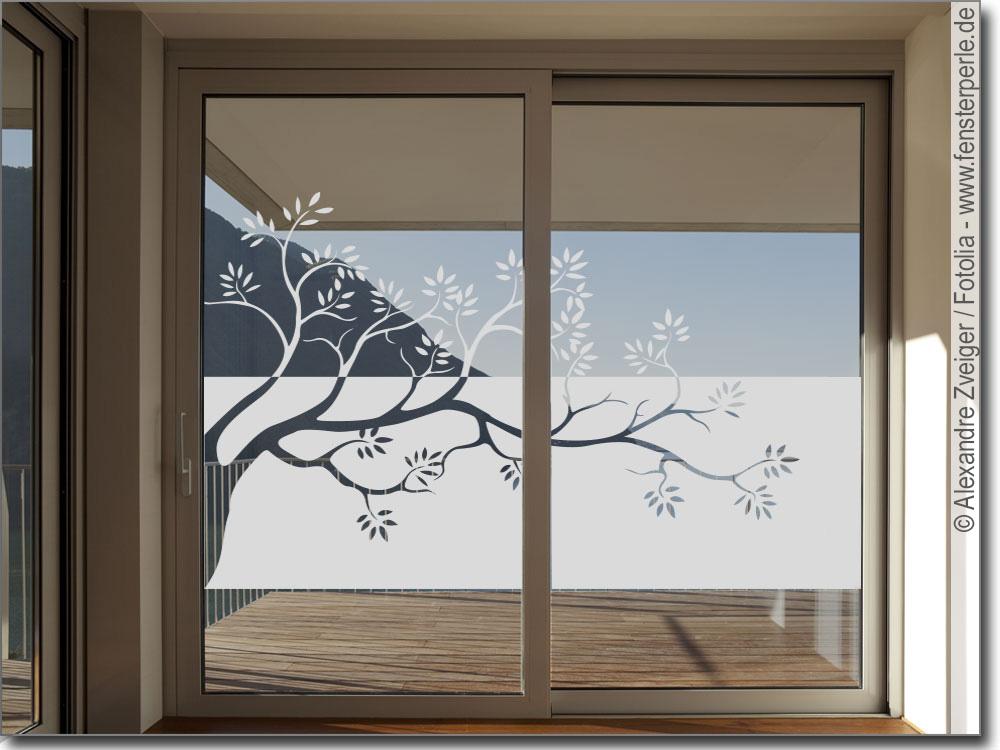 glasfolie ast. Black Bedroom Furniture Sets. Home Design Ideas