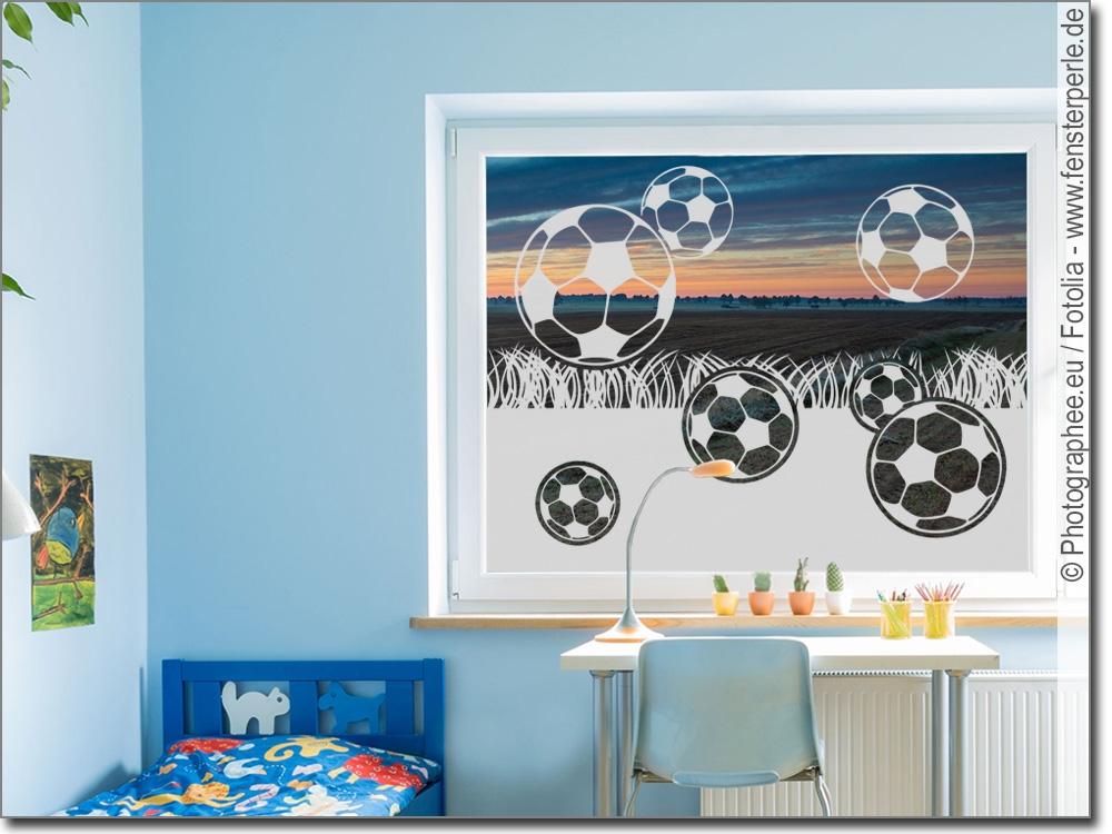 sichtschutz fu ball. Black Bedroom Furniture Sets. Home Design Ideas