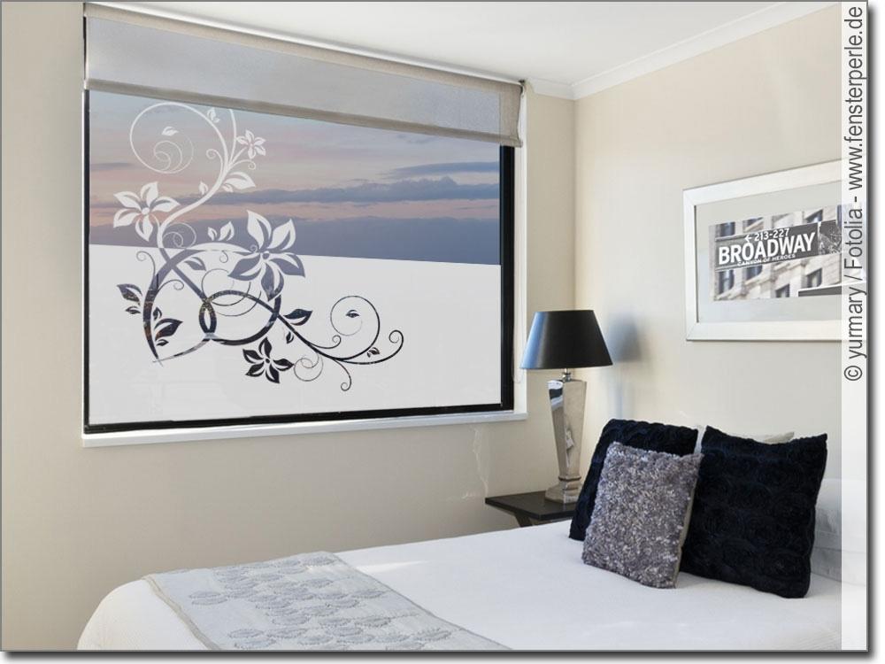 sichtschutz stilvolles ornament. Black Bedroom Furniture Sets. Home Design Ideas