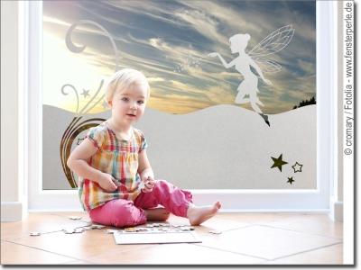 Milchglasfolie sichtschutz sticker kinderzimmer for Fenster kinderzimmer
