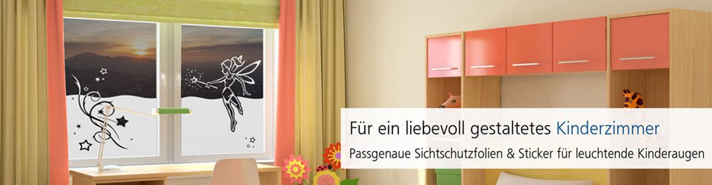 Milchglasfolie Sichtschutz Sticker Kinderzimmer